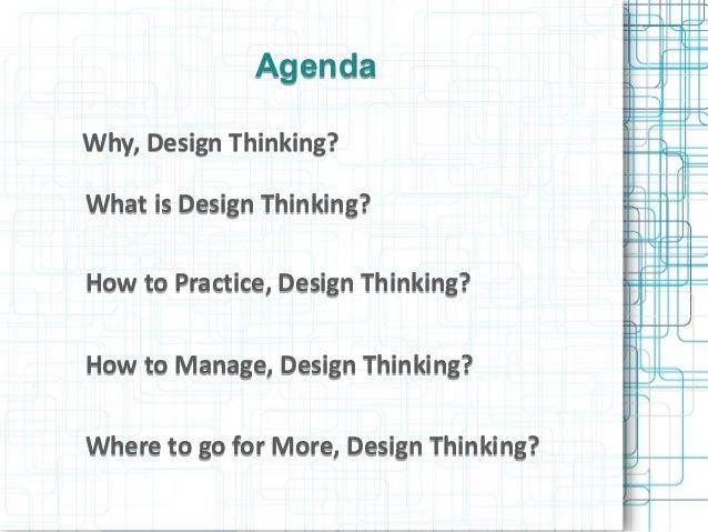 Project Management Using Design Thinking  Slide 2