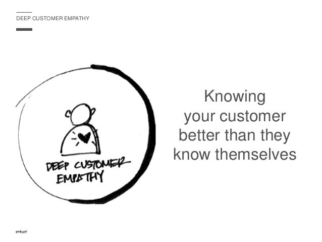 IT IS HARD TO UNDERSTAND YOUR CUSTOMER FROM YOUR OFFICE…