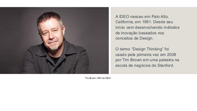 Bizcool design thinking como usar seu cliente para for Ideo palo alto