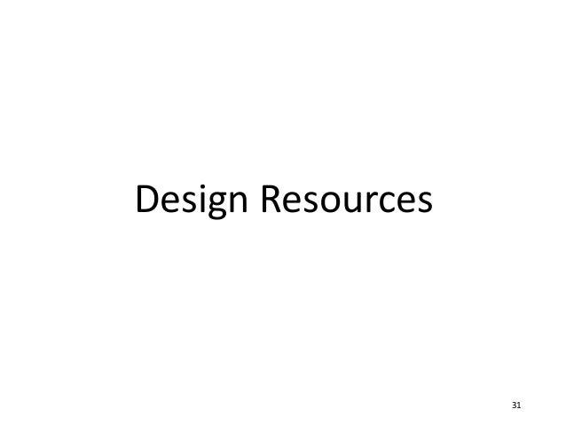 Design Resources 31
