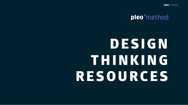 DESIGN THINKING RESOURCES