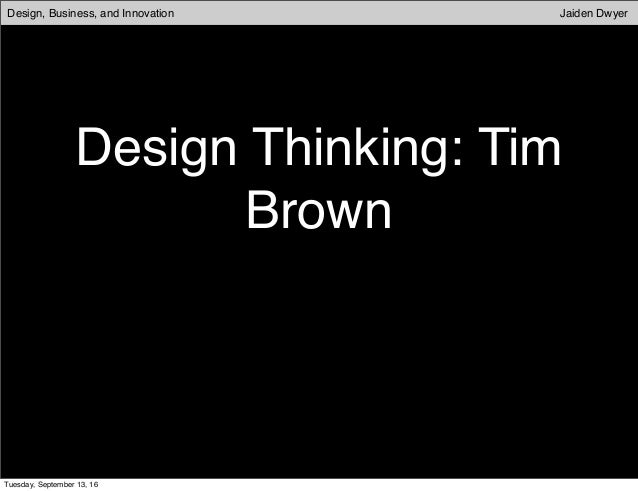 Tim Brown | ideo.com