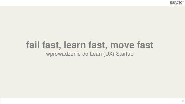 Design Thinking vs Lean UX Startup Slide 2