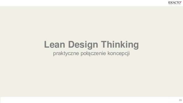 design thinking vs lean startup Innovation is often born from individuals who view design as a way to shape forward-thinking ideas while design alone can't deliver the promise of.