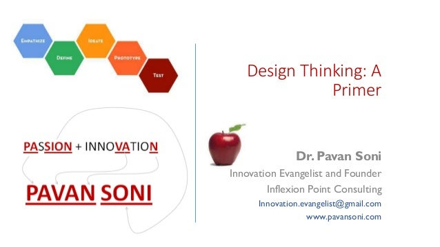 Design thinking workshop pavan soni for Design thinking consulting