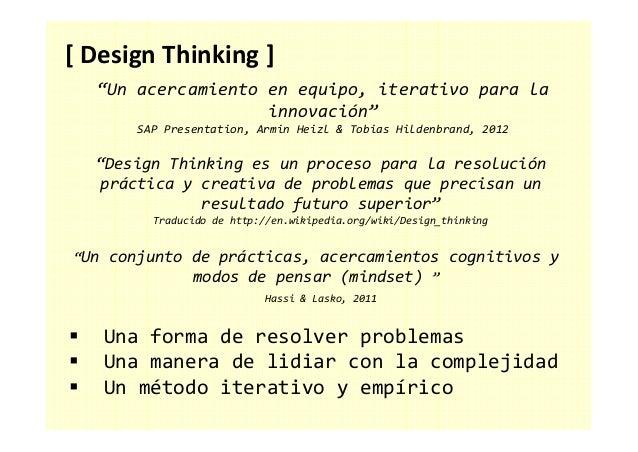 [ Design Thinking ] Deseo Viabilidad Factibilidad INNOVACIÓN
