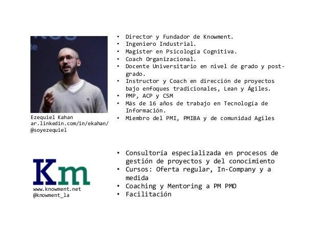 Design thinking y desarrollo de software agiles 2015_knowment_v2 Slide 2