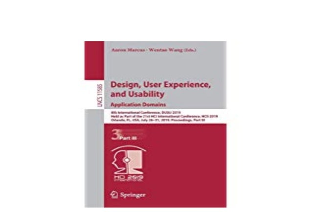 Free E Book Library Design User Experience And Usability Applicat