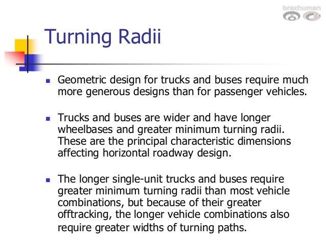Design vehicles turningradiiwashburn turning radii pronofoot35fo Gallery
