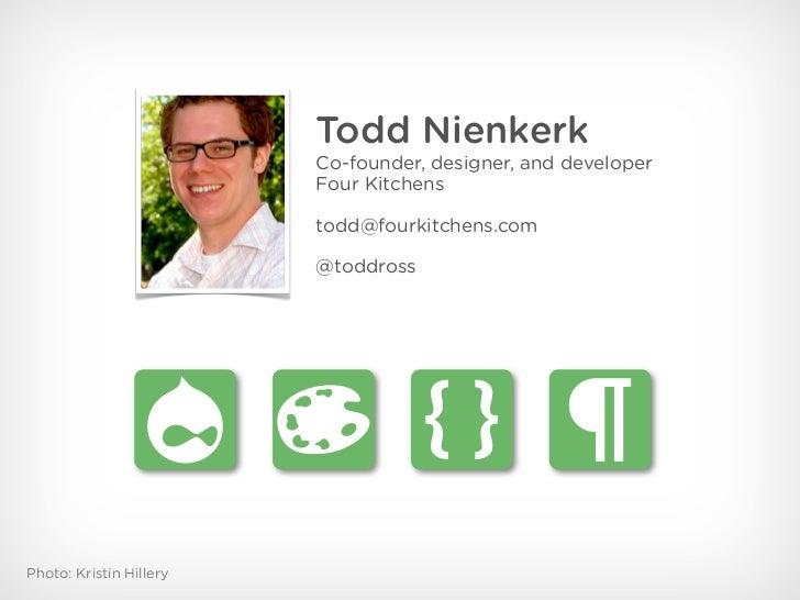 Don't Design Websites. Design Web SYSTEMS! (DrupalCamp Stockholm 2011) Slide 3