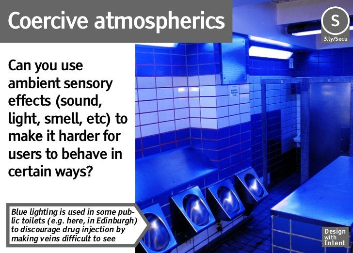 Coercive atmospherics                   Se                                        S                                       ...