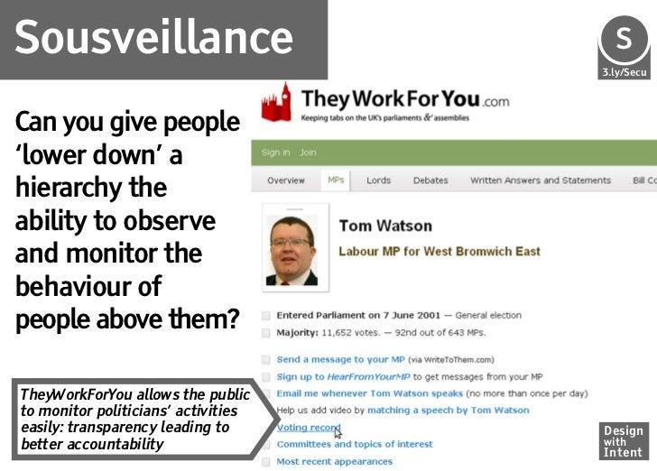 Sousveillance                        Se                                     S                                     3.ly/Sec...