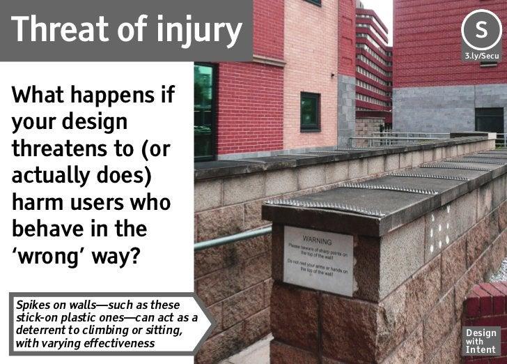 Threat of injury                     Se                                     S                                     3.ly/Sec...