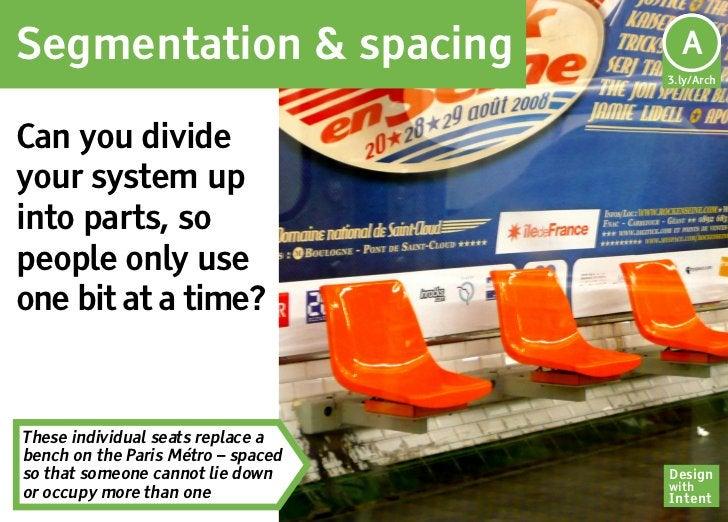 Segmentation & spacing               Ar                                     A                                    3.ly/Arch...