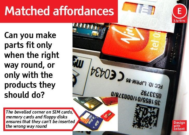 Matched affordances                    Ep                                       E                                      3.l...