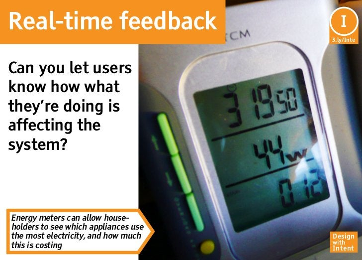 Real-time feedback                       I                                      3.ly/InteCan you let usersknow how whatthe...