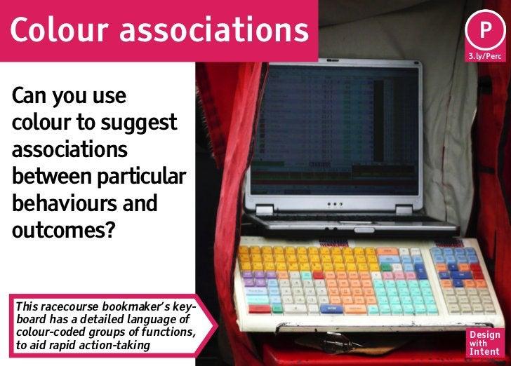 Colour associations                  Pe                                     P                                    3.ly/Perc...