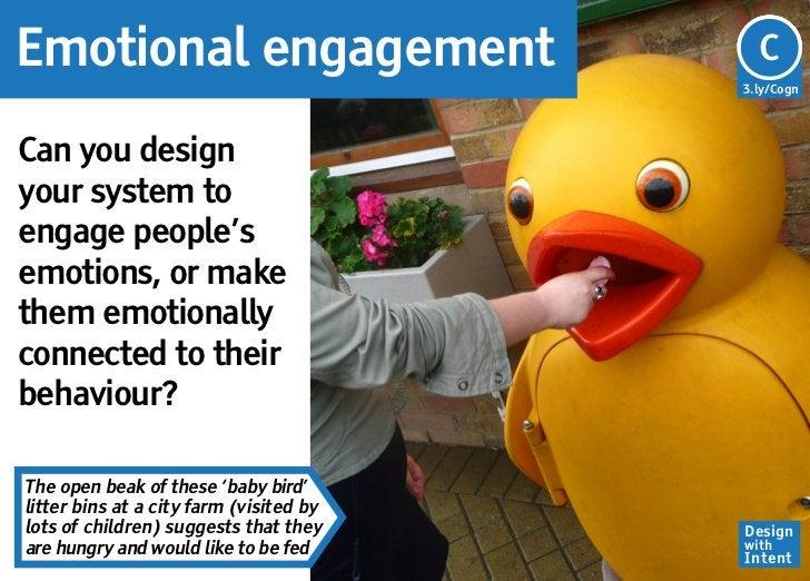 Emotional engagement                     Cg                                         C                                     ...