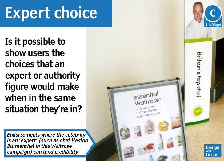 Expert choice                         Cg                                      C                                      3.ly/...