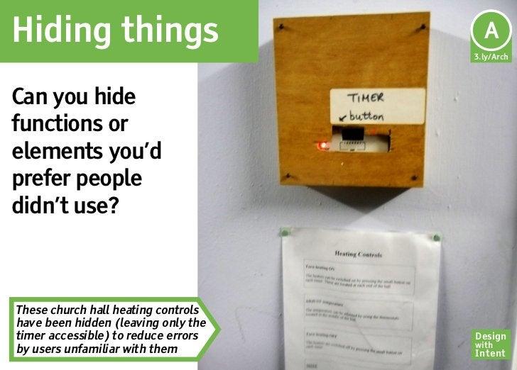 Hiding things                         Ar                                      A                                     3.ly/A...