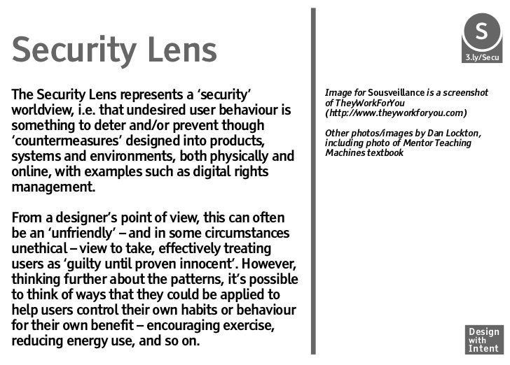S                                                                                       SeSecurity Lens                   ...