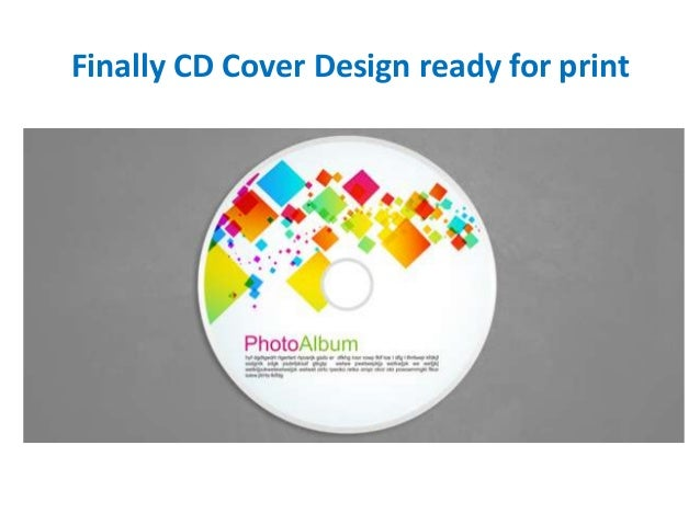 Design your cd cover step by step in corel draw