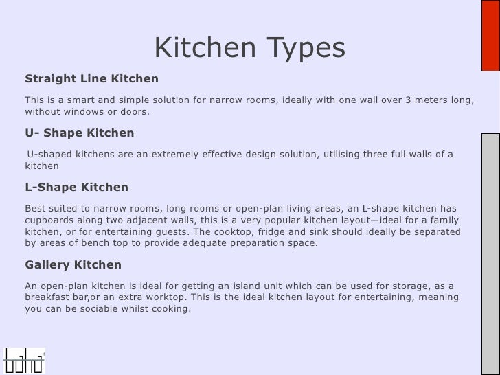 6. Straight Line Kitchen Advantages.
