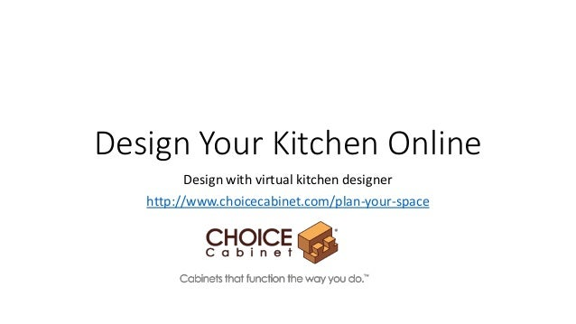 Virtual kitchen designer design your kitchen online for Virtual blueprint maker