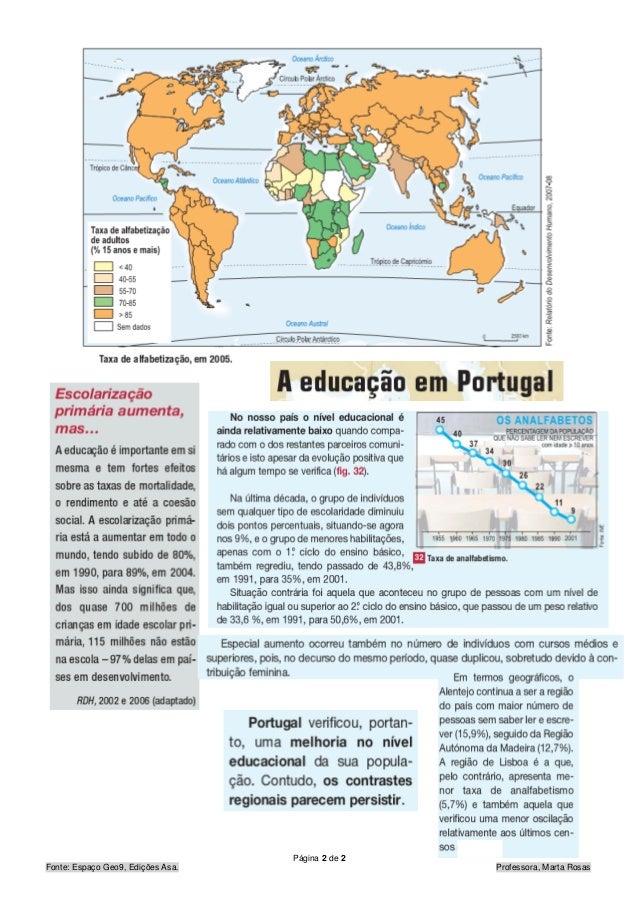 Desigualdades educação Slide 2