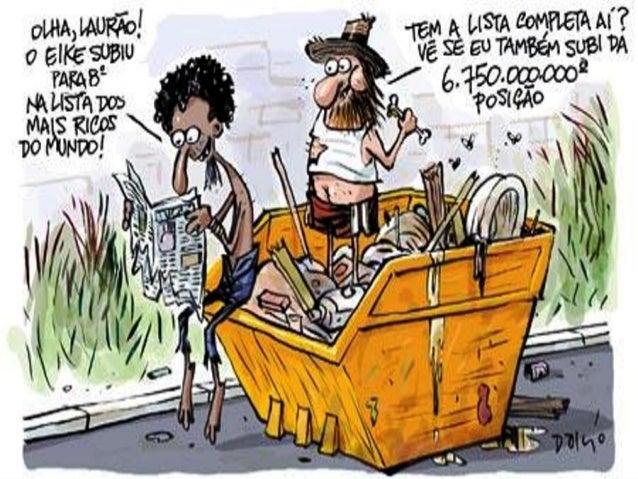 """""""Todas as pesquisas comprovam que os mais pobres, ao obterem um pouco mais de renda, investem em qualidade de vida, como s..."""