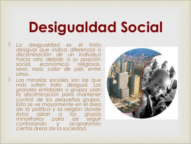 desigualdad social unidad 2 de pema