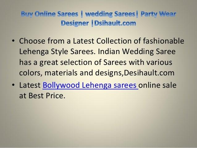 Best Lehenga Style Sarees, Wedding Lehenga Saree, Designer Lehenga Slide 2