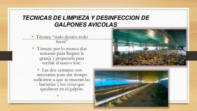 Desinfeccion de equipos e instalaciones agropecuarias Limpieza y desinfeccion de equipos