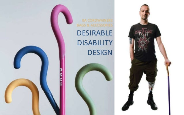 BA CORDWAINERS BAGS & ACCESSORIES DESIRABLE DISABILITY DESIGN