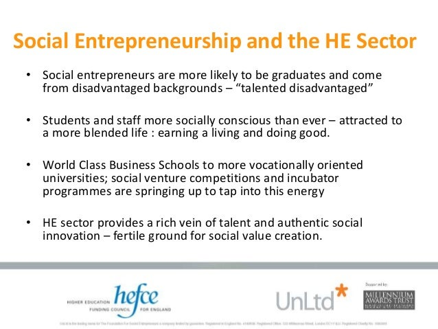 SOCIAL ENTREPRENEURSHIP ON THE RISE: A NATIONAL PERSPECTIVE - By Elle…