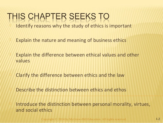 why personal ethics are important The study of ethics allows for a systematized appraisal of the value of human actions and affections ethics seeks to discern what is the best course of action in any given situation its practical importance rests in its ability to create a standard to which people can hold one another the primary .