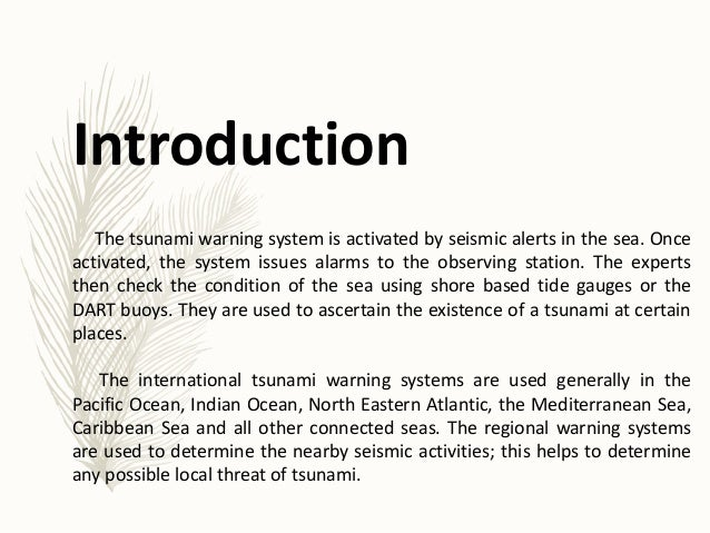 """tsunami conclusion Conclusion: 13 bibliography: 14 introduction: a massive tsunami (japanese for  """"harbor wave"""") had hit southern asia the day after christmas 2004 the cause."""