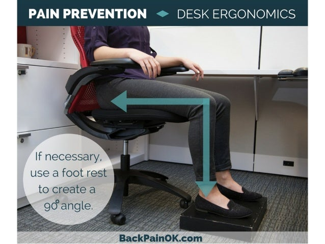 8 pain prevention o desk