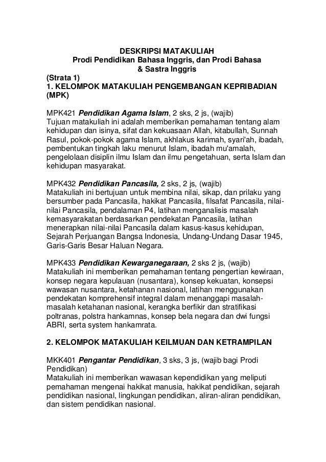 Contoh Research Paper Bahasa Inggris