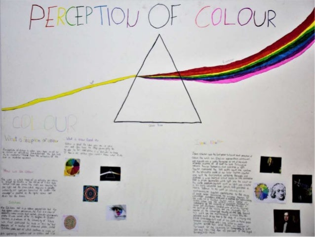 #SciChallenge2017 Perception of Colour