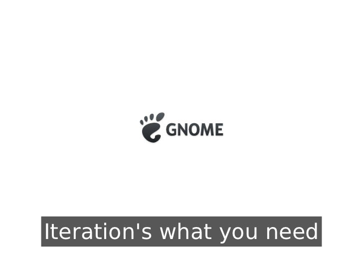 Iterations what you need