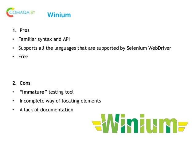 Winium documentation