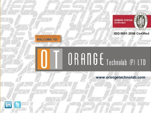 WELCOME TO:WELCOME TO: www.orangetechnolab.com