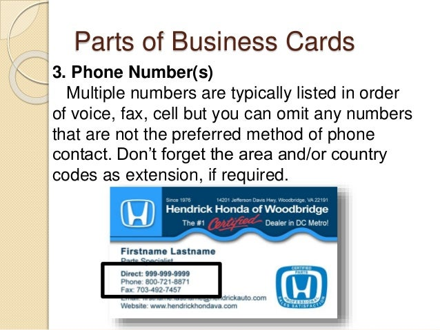 Desktop publishing business card 5 parts of business cards colourmoves