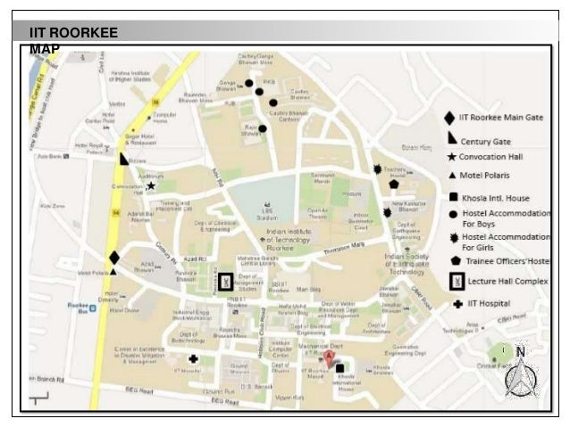 iit roorkee campus map Iit Desk Top Study Roorkee iit roorkee campus map