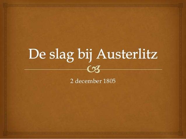2 december 1805
