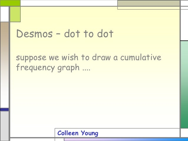 Desmos dot to dot