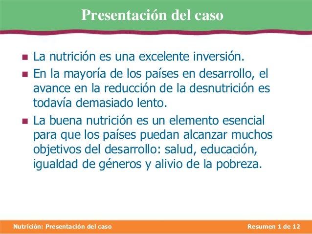 Desnutrición Slide 3