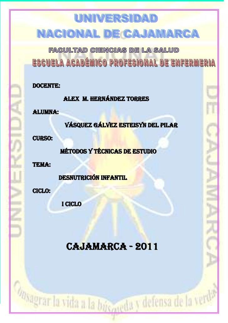 -1070610-402590                 <br />DOCENTE:<br />                    ALEX  M. HERNÁNDEZ TORRES<br />ALUMNA:<br />      ...