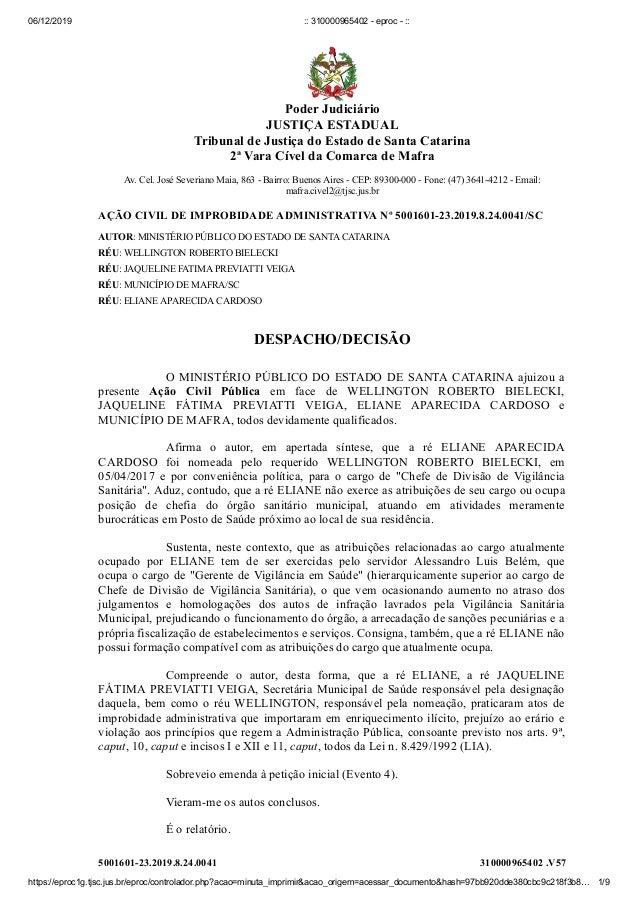 06/12/2019 :: 310000965402 - eproc - :: https://eproc1g.tjsc.jus.br/eproc/controlador.php?acao=minuta_imprimir&acao_origem...